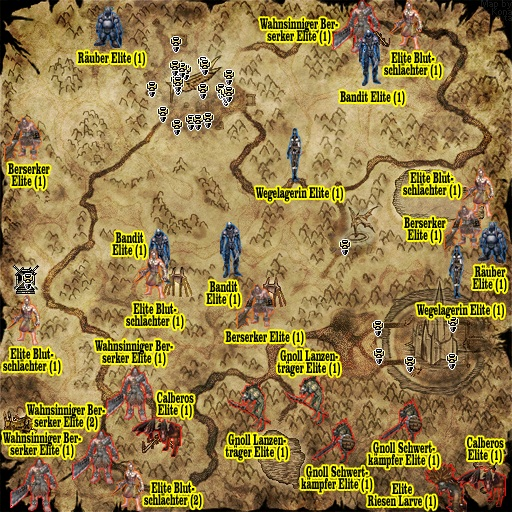 Merak Elite Map